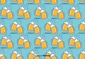 Cerveja- Beer Vector Pattern