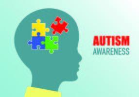 Poster di consapevolezza dell'autismo