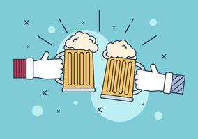 Illustrazione vettoriale di birra
