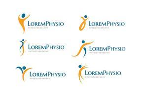 Fisioterapia Logo vettoriale