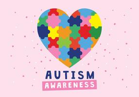 Poster di amore di autismo
