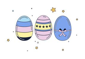 Vettori di uova di Pasqua gratis