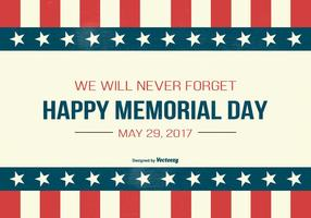 Illustrazione del Memorial Day