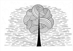 Illustrazione dell'albero di vettore