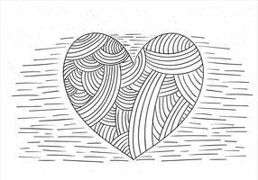 Illustrazione del cuore di vettore gratis