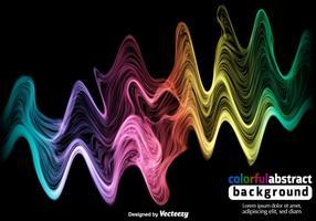 Sfondo colorato spettro vettoriale
