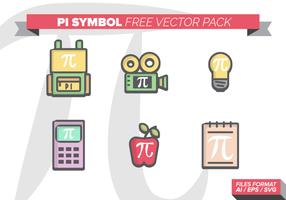 Pacchetto di simboli vettoriali gratis pi