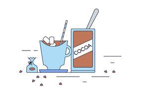 Vettore di cacao