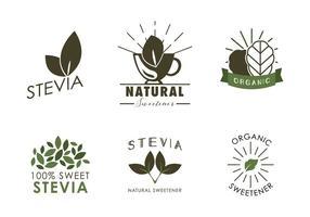 vettore naturale di stevia