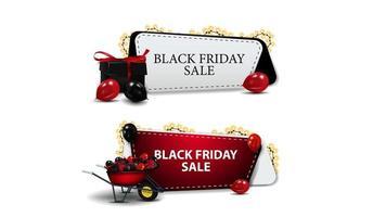 vendita venerdì nero, set di buoni sconto