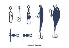 Vettore di attrezzatura da pesca