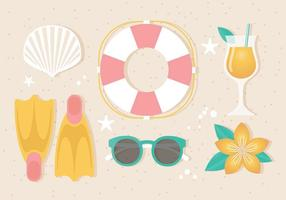 Elementi vettoriali gratis di estate