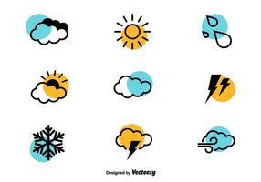 Icone del tempo - insieme di vettore