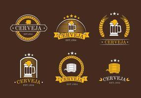 Cerveja Logo vettoriali gratis
