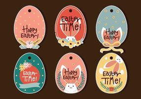 Etichetta uovo di Pasqua