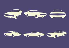 Auto sagome vettoriali