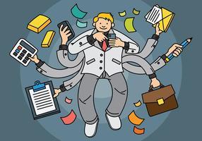 Sfondo vettoriale multitasking