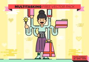 pacchetto di vettore gratuito multitasking
