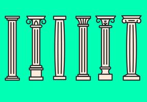vettore icona corinzio