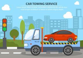 Servizio di rimorchio per auto vettore