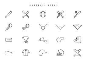 Vettori di baseball gratis