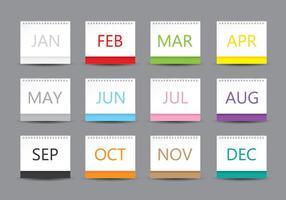 Modello di calendario desktop
