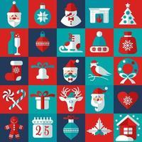 elementi di design di Natale