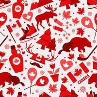 segni e simboli del Canada vettore