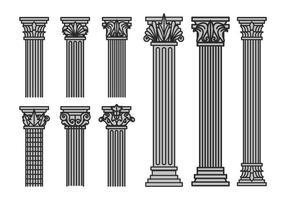 Set vettoriale corinzio