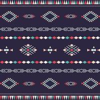 modello tribale azteco con forme geometriche