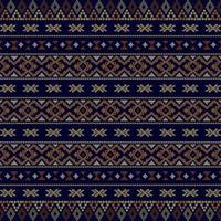 Modello senza cuciture tribale azteco vettore