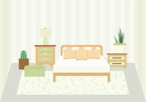 Illustrazione vettoriale camera da letto