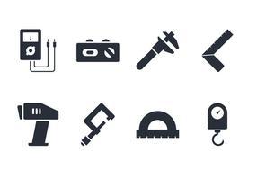Set di strumenti di misurazione vettore