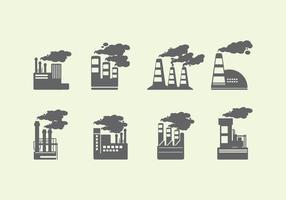 Icona di fumo vettore