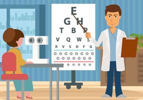 vettore di prova dell'occhio