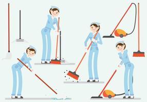 Personaggi più puliti vettore
