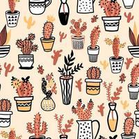 illustrazione vettoriale di rami di salice in vaso