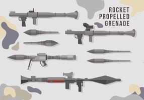RPG piatto vettoriale