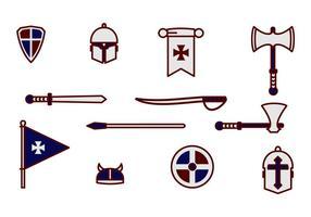 Cavaliere Cavaliere Armatura E Arma