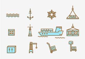 Icone del cantiere navale