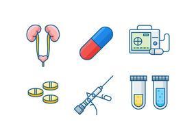 Vettori di urologia gratis