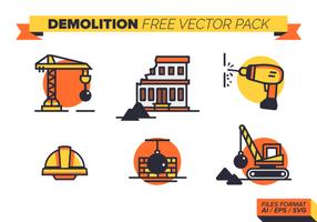 pacchetto di vettore gratuito di demolizione