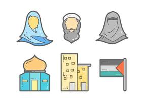 Vettori unici di Gaza