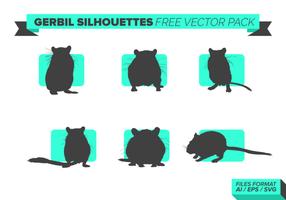 gerbillo pack vettoriali gratis