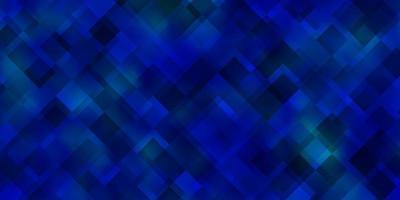 sfondo blu in stile poligonale. vettore
