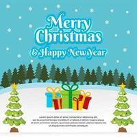 buon natale e felice anno nuovo banner
