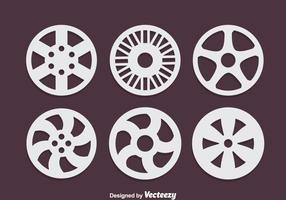 Consenti set vettoriale di ruote