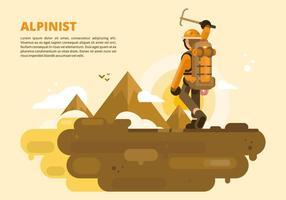 Illustrazione di Aplinist vettore