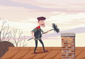 Chimney Sweep Vector