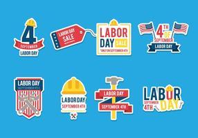 Vettori del Labor Day